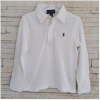Camiseta Gola polo Ralph Lauren - original - 3 anos - Ralph Lauren