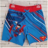 Shorts Superman comprada nos EUA - 4 anos - Superman Comics