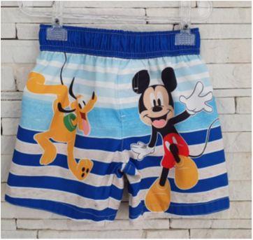 Shorts praia Mickey comprada nos EUA - 4 anos - Disney