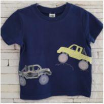 Camiseta carrinhos  Child Of Mine - CARTERS - 2 anos - Child of Mine e Carter`s
