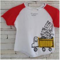 Camiseta Zara - 9 a 12 meses - Zara Baby