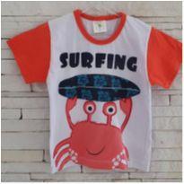 Camiseta surfing - 2 anos - Marca não registrada