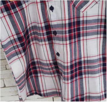 Camisa xadrez Tam 12 - 12 anos - Aquarela