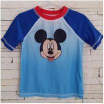 Camiseta praia UV50 Disney  - comprada na loja oficial em Orlando - 4 anos - Disney