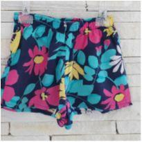 Shorts floral - 2 anos - Hering Kids