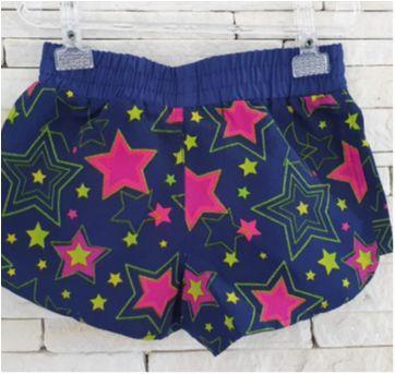 Shorts levinho estrelinhas - 4 anos - basica kids
