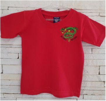 Camiseta HONG KONG dragão - 3 anos - Marca não registrada