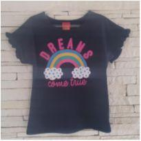 Camiseta dreams - 6 anos - Kyly