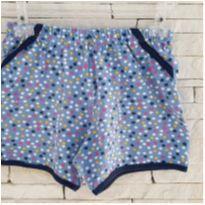 Shorts bolinhas - 6 anos - Analê