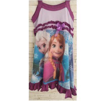Pijama Frozen - 4 anos - etiqueta foi cortada
