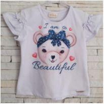 Blusa ursinha - 4 anos - KUKIÊ