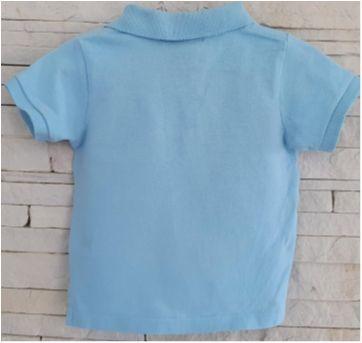 Blusa gola polo Ralph Lauren - original - 9 meses - Ralph Lauren