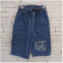 Bermuda Jeans - 6 anos - Marca não registrada