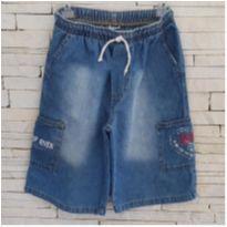Bermuda jeans - 6 anos - Farrapinhos