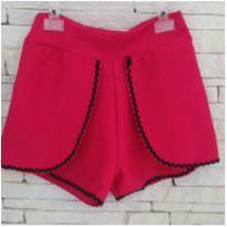 Shorts pink - 5 anos - etiqueta foi cortada
