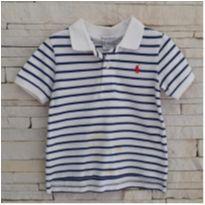 Camiseta Gola polo Ralph Lauren - original - 18 meses - Ralph Lauren