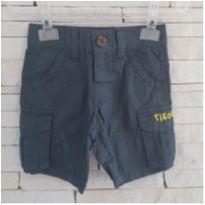 Shorts TIGOR - 3 a 6 meses - Tigor Baby