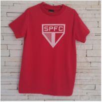Camiseta SPFC - 6 anos - Marca não registrada