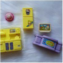 Kit de acessórios brincando de casinha -  - Diversas