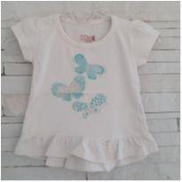 Blusa bebê DOAÇÃO - 0 a 3 meses - Kiko baby