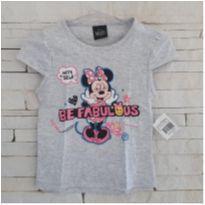 Camiseta Minnie - NOVA - 1 ano - Disney