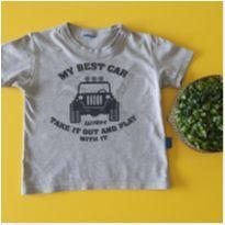 Camiseta best car - 1 ano - etiqueta foi cortada