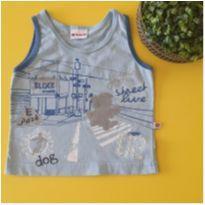 Camiseta cavada brandili - 0 a 3 meses - Brandili