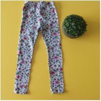 Calça legging floral - 5 anos - Riachuelo