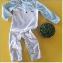 Macacão coelhinha fleece CARTERS - 2 anos - Carter`s