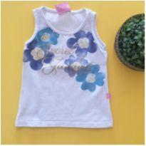 Blusa cavada floral - 2 anos - Le Petit