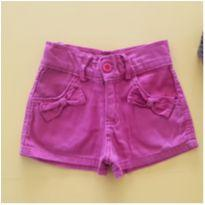 Shorts lacinhos - 1 ano - Le Petit