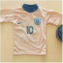 Camiseta Brasil - 2 anos - Marca não registrada
