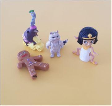 Lote brinquedos diversos 10 - Sem faixa etaria - Mc Donald`s e Outras