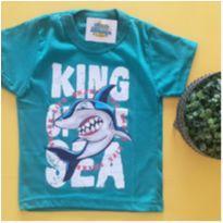 Camiseta tubarão - NOVA
