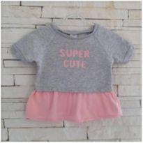 Blusa CARTERS super cute - 9 meses - 9 meses - Carter`s