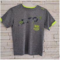 Camiseta BARÇA - Tam. 8 anos - 8 anos - Importada