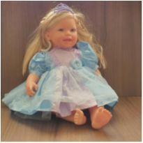 Boneca Charmosa Princesa Loira - Cotiplás -  - Cotiplás