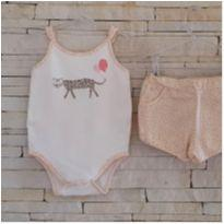 Pijama algodão egípcio - Tam. 9-12 meses - 9 a 12 meses - BIBE
