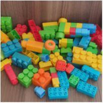 Kit blocos diversos - 85 peças -  - Diversas