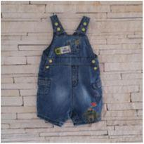 Jardineira jeans baby club Tam. 12-18 meses menino - 12 a 18 meses - Baby Club