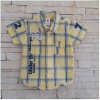Camisa baby club Tam. 9-12 meses menino - 9 a 12 meses - Baby Club