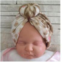 Turbante bebê -  - etiqueta foi cortada