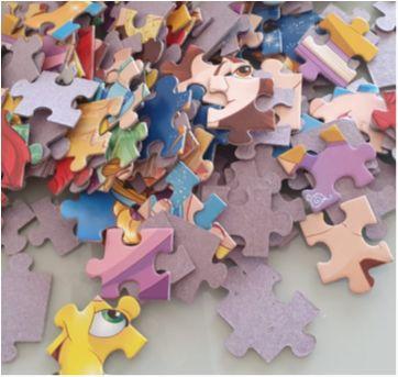 Quebra-cabeças 150 peças - Princesas Grow - Sem faixa etaria - Grow