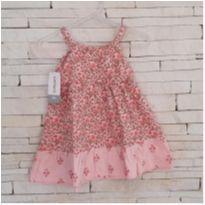 Vestido floral CARTERS Tam 9 meses - 9 meses - Carter`s