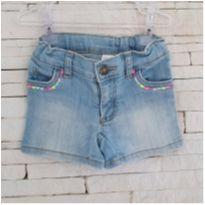 Shorts jeans LINDO CARTERS Tam. 2T - 2 anos - Carter`s