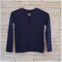 Camiseta azul manga longa Lee - original - Comprada em Miami Tam. 6 - menino - 6 anos - Lee