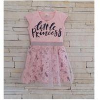 Vestido princesa com tule Tam. 2 - 2 anos - LX Têxtil