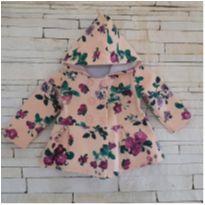 Casaco floral LINDO! Tam. 12 meses - 1 ano - Rovitex