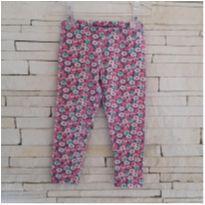 Calça legging floral CARTERS Tam. 24 meses - 2 anos - Carter`s