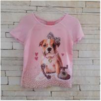 Blusa LINDA cachorrinha Le petit - Tam. 2 - 2 anos - Le Petit